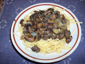 [Pasta with Mushrooms]